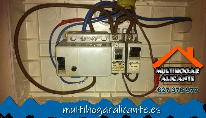 Electricistas Pla del Bon Repós Alacant 24 horas