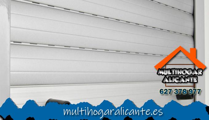 Reparacion persianas Altozano-Conde Lumiares Alacant